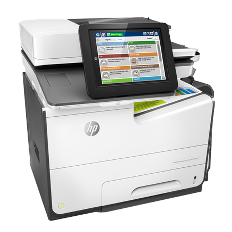 A4 HP PageWide Managed E58650z
