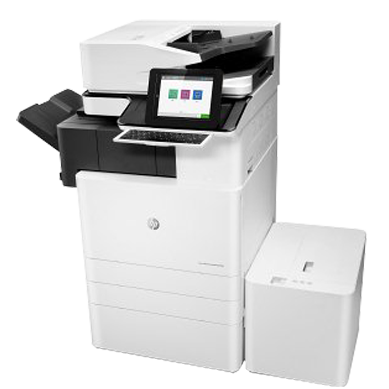 A3 HP Managed LaserJet y PageWide e87650z