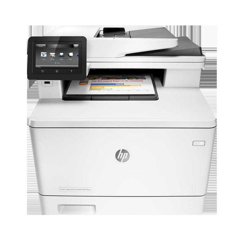 A4 HP LaserJet Pro M477fnw