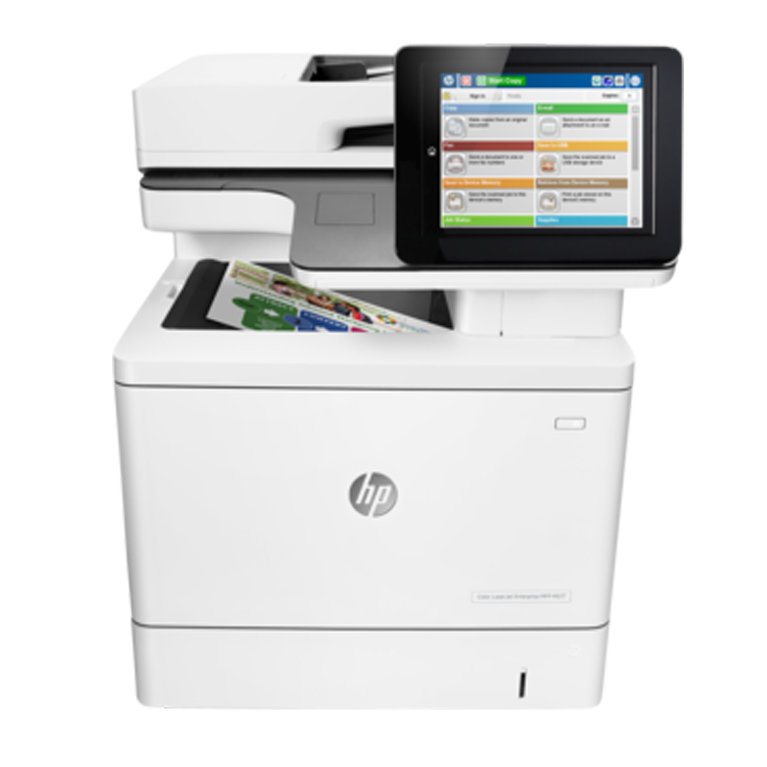 A4 HP LaserJet Enterprise Flow M577c