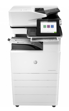 A3 HP Managed LaserJet y PageWide p72525dn