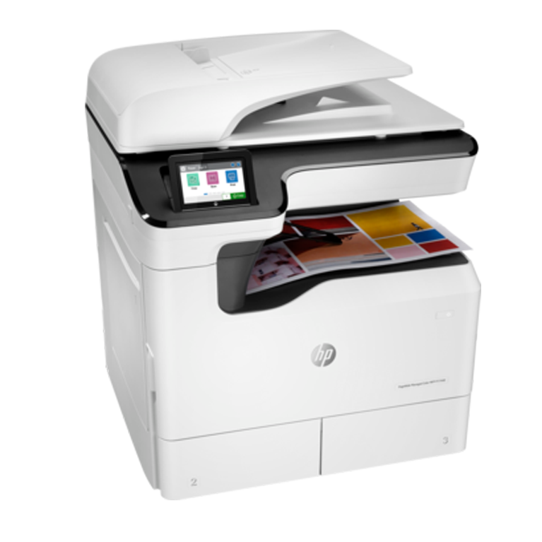 HP A3 Managed LaserJet y PageWide p77440dn