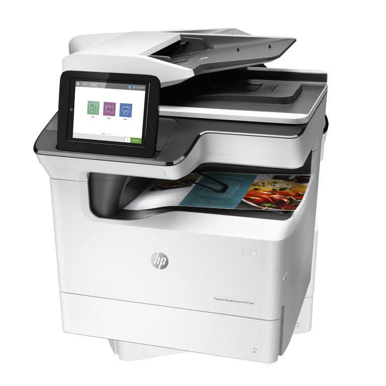 A3 HP Managed LaserJet y PageWide p77940dn y ds