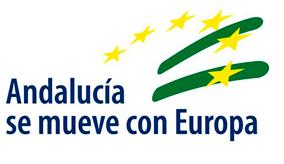 logo Andalucía se mueve por Europa