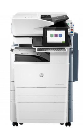 A3 HP Managed LaserJet y PageWide p7225dn y p7225z