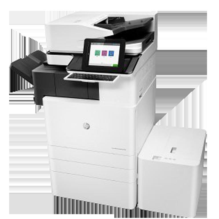 A3 HP Managed LaserJet y PageWide e87640z