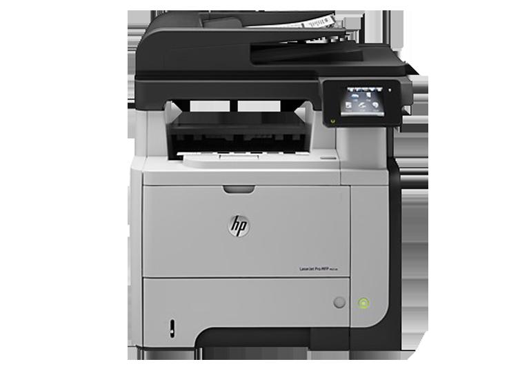 A4 HP LaserJet Pro serie M521dn
