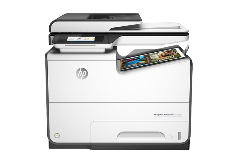 A4 HP PageWide Managed P57750dw