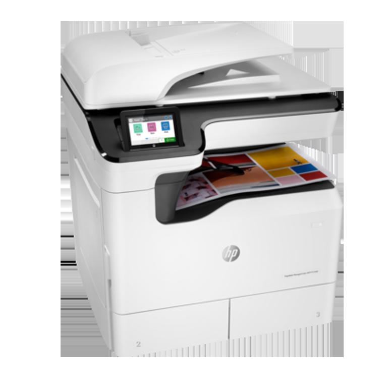 A3 HP Managed LaserJet y PageWide p77440dn